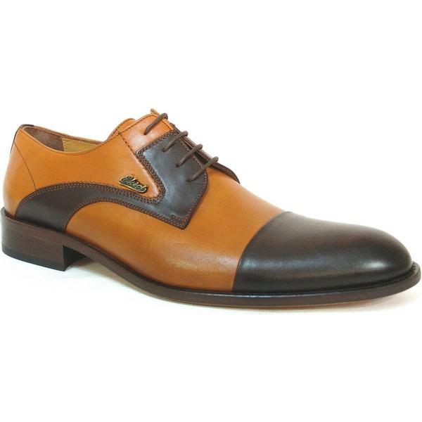 ee7de5f4de19e Ekici 3804 Taba Kahverengi Bağcıklı Kösele Erkek Ayakkabı - 43 Ürün Resmi