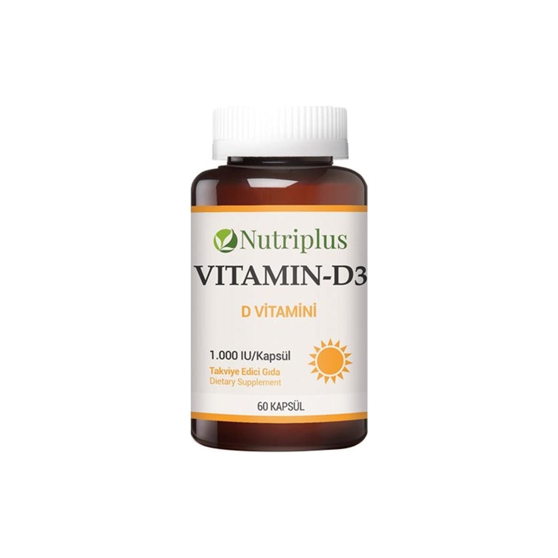 Farmasi Nutriplus D Vitamini 60 Kapsul Fiyati Taksit Secenekleri