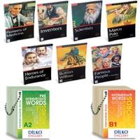 Mira Books Level 2 İngilizce Hikaye Seti (7 Kitap) + Kelime Kartları A2-B1