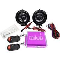 Motosiklet Müzik Sistemi Bluetooth Mp3 Çalar Alarm