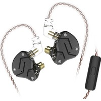 Kz Zsn 3.5mm Kablolu Kulaklık W / Mikrofon Hifi (Yurt Dışından)