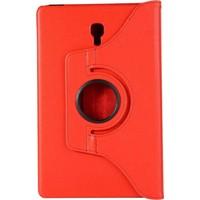 Nihcase Samsung Galaxy Tab S4 T830 360 Dönerli Standlı Kılıf Kırmızı