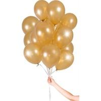 Acar Süs Altın Metalik 10'lu Balon