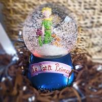 1 Özel Hediye Küçük Prens Işıklı Müzikli Kar Küresi Yılbaşı Kar Küresi