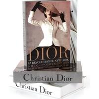 Yedi Home & Decor Dior Şapkalı Dekoratif Kitap Kutu