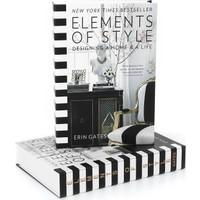 Yedi Home & Decor Elements Of Style Dekoratif Kitap Kutu
