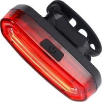 Peak Şarjlı LED USB Stop Arka Lamba Uyarı Işığı Işık