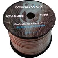 Megavox 14GA Profesyonel Bakır Ses Kablosu 100 Metre