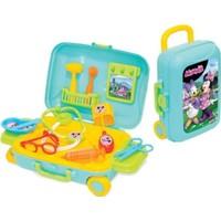 Dede Minnie Mouse Çekçek Çantalı Doktor Oyun Seti 3481 Bavulum