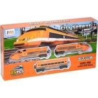 Toys Pilli Sesli Işıklı Express Tren Seti 15 Parça Oyuncak ASY-JHX9911/9901