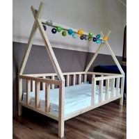 Baby Kinder Apache Doğal Montessori Bebek & Çocuk Karyolası 80 x 180 cm