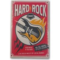 Doremi Tasarım Hard Rock Duvar Tablosu