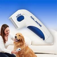 Tamam Elektronik Elektrikli Pet Kedi ve Köpek Pil Fırçası Köpek Pire Pet Bit Temizleme Aleti