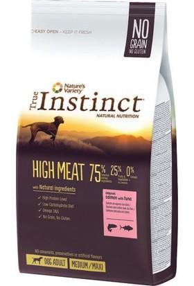 Instinct Yüksek Etli Somonlu Tahılsız Yetişkin Köpek Maması 12 kg