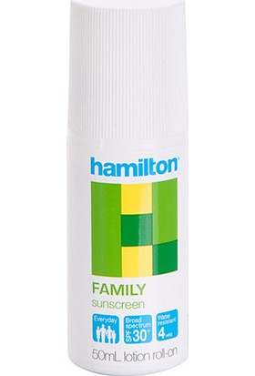 Hamilton Family Sunscreen Spf 30+ 50 Ml Spray Güneş Losyonu