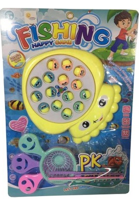 Happy Fishing Pilli Oltalı Balık Tutma Oyunu