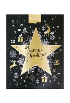 Favorina Marry Christmas Çikolatalı Noel Takvimi 246 gr