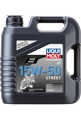 Lıquı Moly 15W50 Street 4t Sentetik Motor Yağı 4 Litre