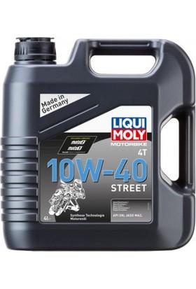 Lıquı Moly 10W40 Street 4t Sentetik Motor Yağı 4 Litre