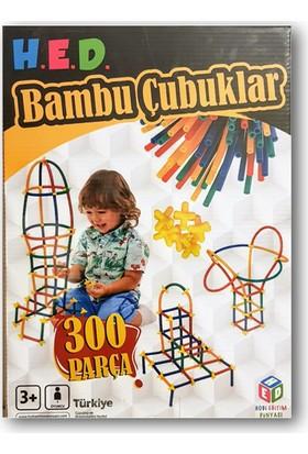 Hobi Eğitim Dünyası Bambu Çubukları - 300 Parça