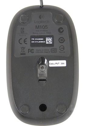Logitech M105 USB Kablolu Mouse (Yurt Dışından)