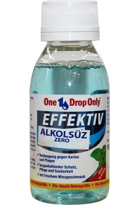 One Drop Only Effektıve Ağız Gargara Zero 100 ml