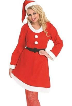 Cakes Party Noel Bayan Lüks Kostüm Kadife
