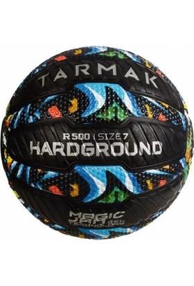 Tarmak R500 Grafiti Desenli 7 Numara Basketbol Topu Siyah