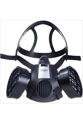 Drager X-Plore 3300 Yarım Yüz Maskesi + A1B1E1K1 Gaz Filtresi