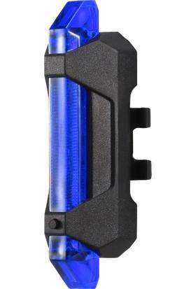 Buyfun Süper Parlak USB Şarj Edilebilir Bisiklet Arka Lambası (Yurt Dışından)