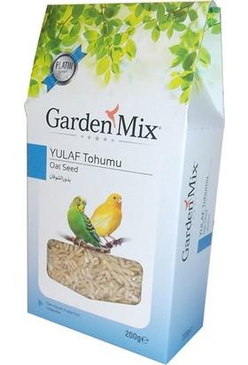 Gardenmix Garden Mix Platin Yulaf Tohumu Kuş Yemi 200 gr