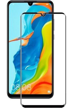 SmartBerry Huawei P30 Lite Kılıf Silikon Premier + Tam Kaplayan Ekran Koruyucu Bronz