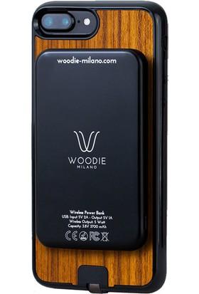 Woodie Milano Teak Wood Powerbank