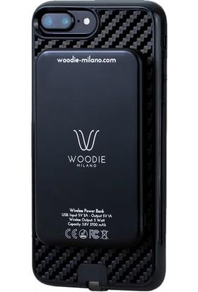 Woodie Milano Carbon Look Black Powerbank