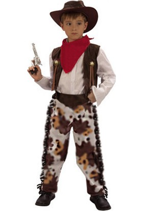 Masal Kostüm Kovboy Erkek Kostümü