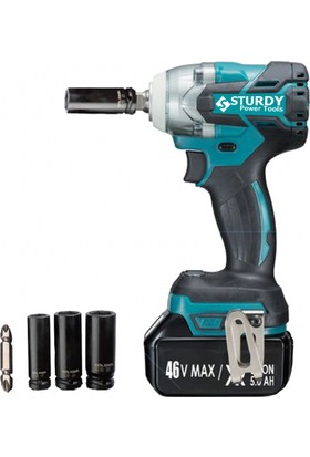 Sturdy Power Tools Brushless Motor 46 V 5 Ah Darbeli Somun Sıkma Makinesi