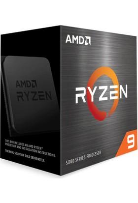 AMD Ryzen 9 5900X 4.8GHz 12C / 24T 64MB Cache Soket AM4 İşlemci