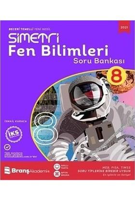 Branş Akademi Yayınları 8. Sınıf Simetri Fen Bilimleri Soru Bankası