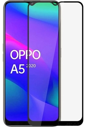 Nettens Oppo A5 2020 Fiber Nano 6d Tam Kaplayan Ekran Koruyucu