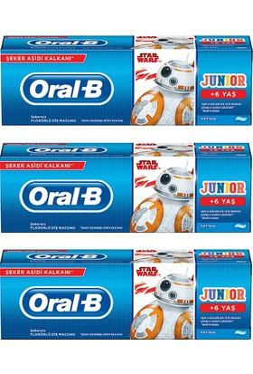 Oral-B Pro-Expert Stages Çocuk Diş Macunu Star Wars 75 ml 3 Adet