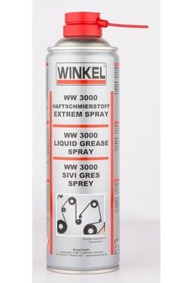 Winkel WW-3000 Sıvı Gres Sprey 500 Ml. x 12 Ad.