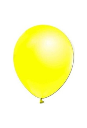 Acar Süs Sarı Metalik 10'lu Balon