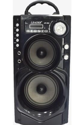 Leader AP-662 USB / Sd & Fm Karaoke Radyo