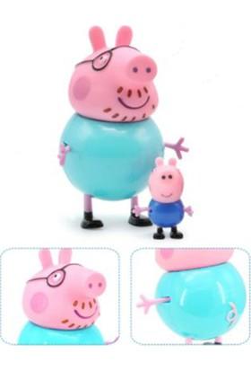 Peppa Pig Oyuncak Figür 4'lü