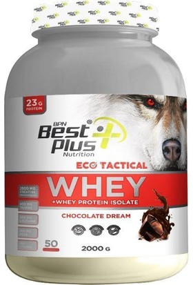 Best Bpn Eco Tactıcal Whey 2000 G Chocolate Dream