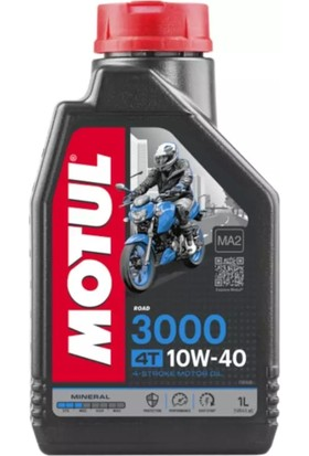 Motul 3000 10W40 Mineral Motosiklet Yağı 1 lt (Üretim Tarihi:2020)