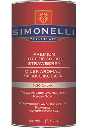 Simonelli - Sicak Cikolata - Çilek Aromalı - 900 gr