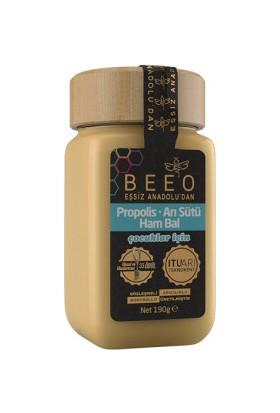 BEE'O Propolis + Arı Sütü + Ham Bal (Çocuk) 190g