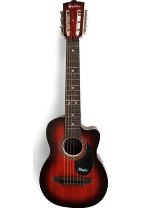 Sunman Akustik Büyük Gitar 69 Cm.