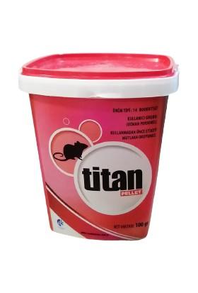 Titan Pellet Fare Zehri 100GR - Pellet Formunda